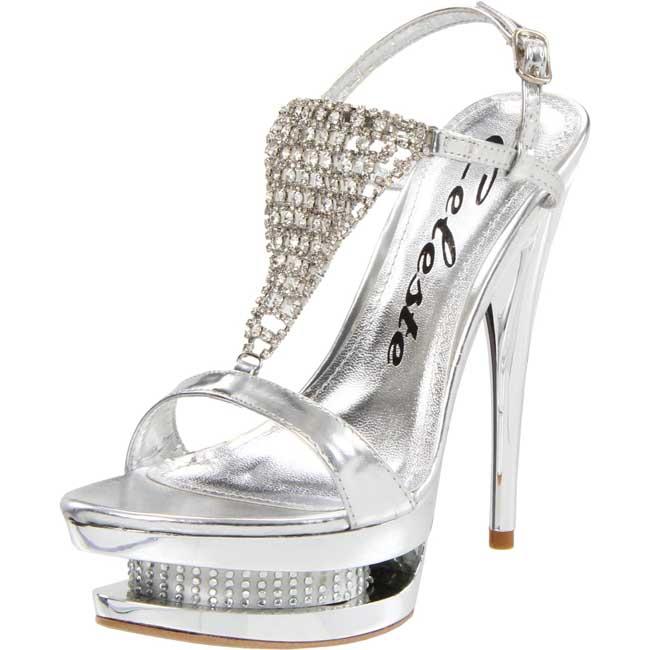Celeste Women's 'Alude-07' Crystal Draped Sandals