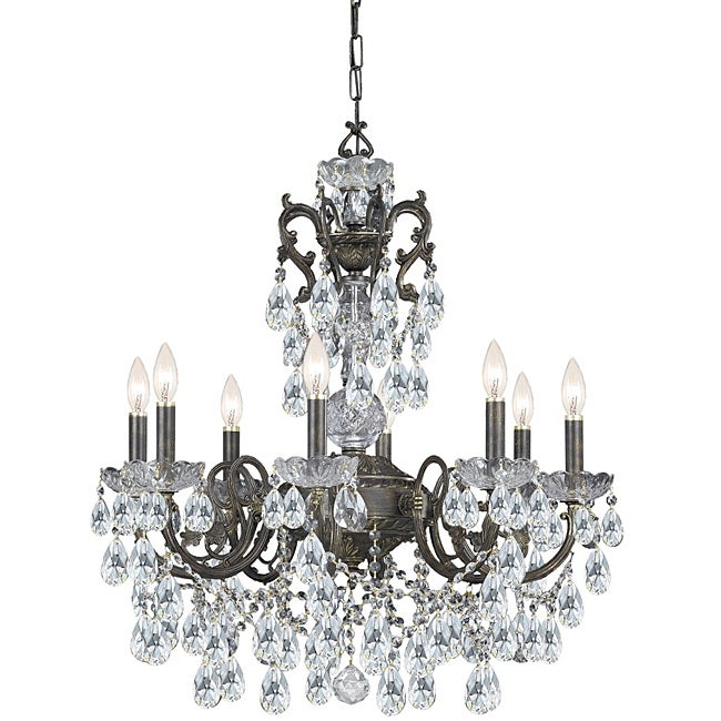 Crystorama legacy english bronze 8 light crystal chandelier free crystorama legacy english bronze 8 light crystal chandelier aloadofball Image collections