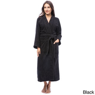 Superior Collection Luxurious 100-percent Premium Long-staple Combed Cotton Unisex Terry Bath Robe
