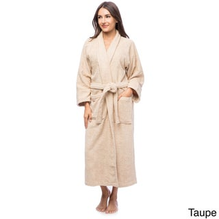 Superior Luxurious 100-percent Combed Cotton Unisex Terry Bath Robe (More options available)