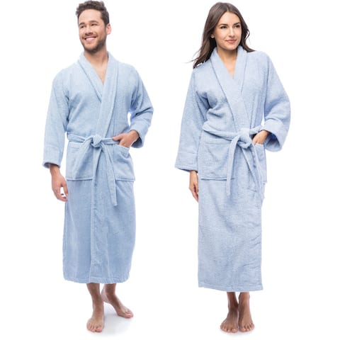 fff6876849a66 Superior Luxurious 100-percent Combed Cotton Unisex Terry Bath Robe