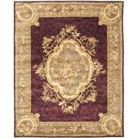 Safavieh Handmade French Aubusson Red Premium Wool Rug - 6' x 9'