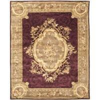 Safavieh Handmade French Aubusson Red Premium Wool Rug - 7'6 x 9'6