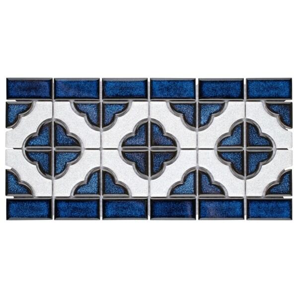 Somertile 5 75x11 75 Inch Castle Cobalt