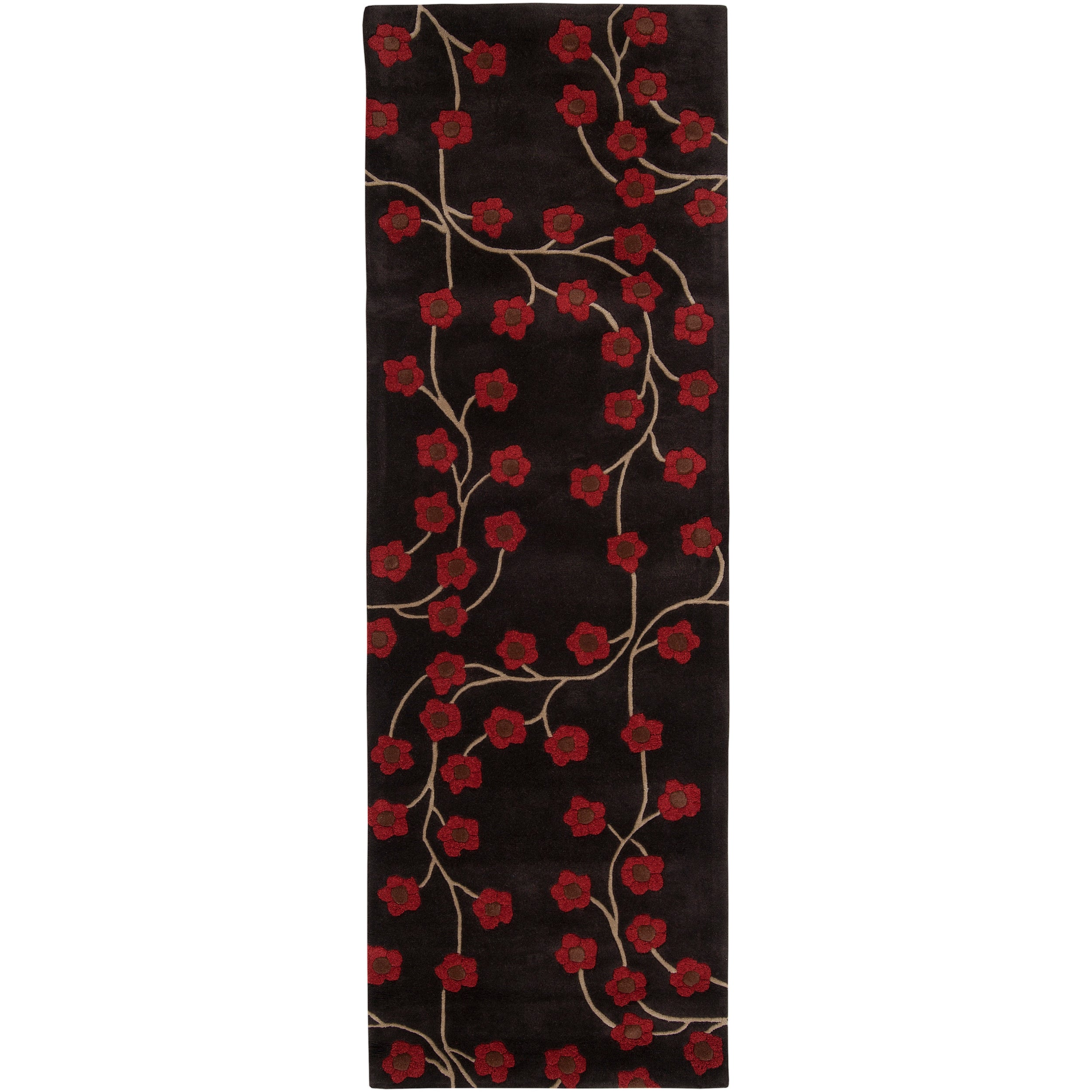 "Hand-tufted Oslo 9C Wool Rug (2'6"" x 8')"