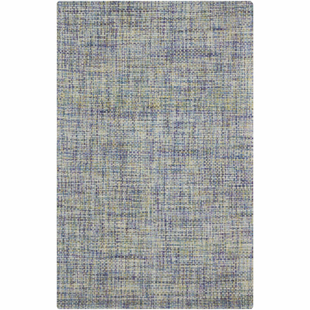 Artist's Loom Hand-woven Contemporary Abstract Wool Rug - 5' x 7'6