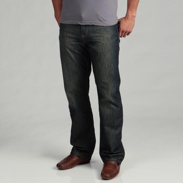 Calvin Klein Jeans Men's Dark Wash Straight Jeans