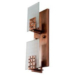 Varaluz Dreamweaver Vertical 2-light Wall Sconce - Thumbnail 1