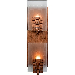 Varaluz Dreamweaver Vertical 2-light Wall Sconce - Thumbnail 0