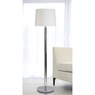 Design Craft Baxter Chrome Finish 62-inch Floor Lamp