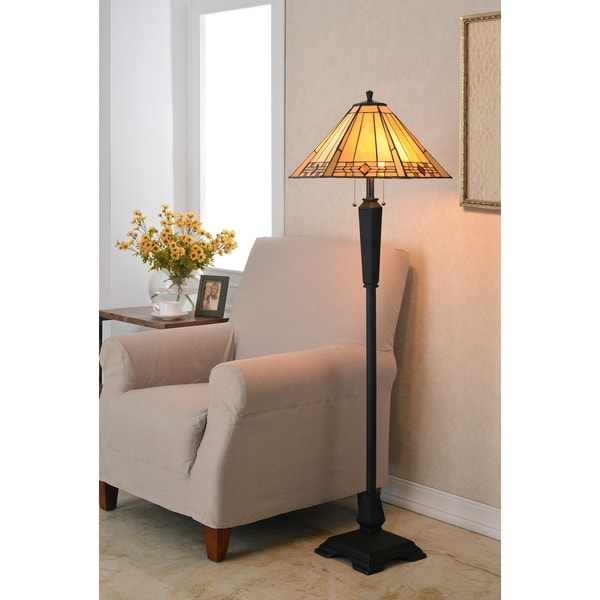 Copper Grove Killarney 59-inch Bronze Finish Floor Lamp