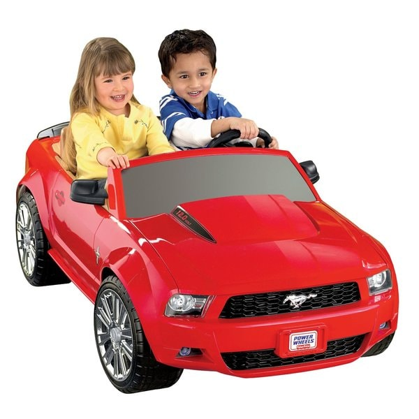 Fisher-Price Power Wheels Ford Mustang Riding Toy