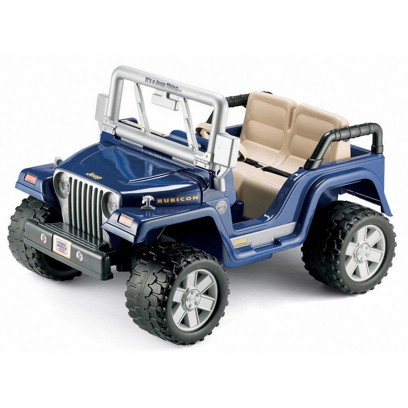 Fisher Price Power Wheels Jeep Wrangler Rubicon Overstock 6632904