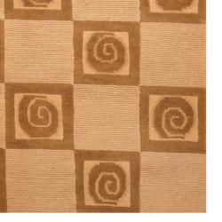 Herat Oriental Indo Hand-knotted Tibetan Wool Rug (3'7 x 5'6) - Thumbnail 2
