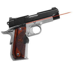 Crimson Trace Master Series Rosewood Lasergrip for Round Heel Style 1911 Pistols