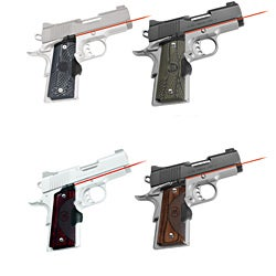 Crimson Trace Master Series Lasergrip for Compact 1911 Pistols