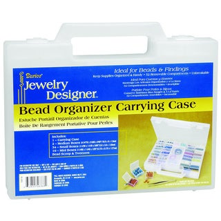 Darice Jewelry Designer Bead Organizer Carrying Case