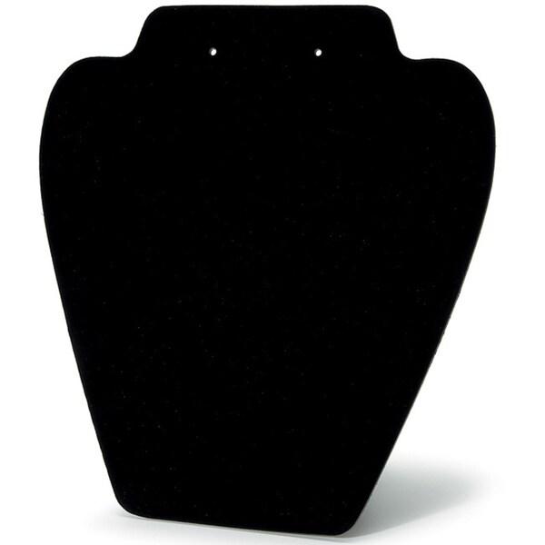 Folding Velvet Black Jewelry Stand (Set of 6)