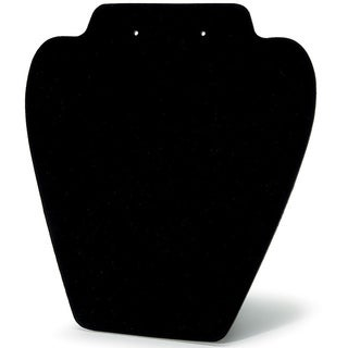 Folding Velvet Black Jewelry Stand (Set of 6)