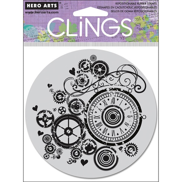 Hero Arts 'Watch Gears' Cling Stamps