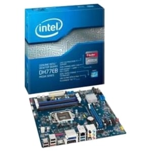 Intel Media DH77EB Desktop Motherboard - Intel H77 Express Chipset -