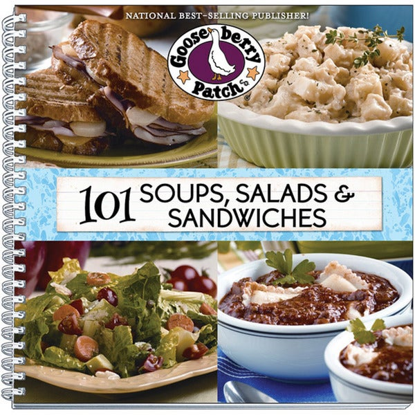 Gooseberry Patch 101 Soups Salads and Sandwiches Cookbook