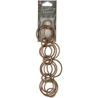 Jewelry Basics Copper Round 10-inch Metal Chain