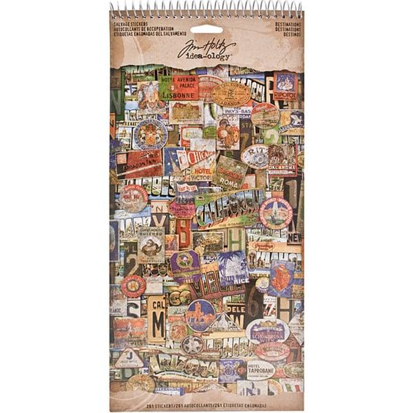 Advantus Idea-Ology Cardstock 261 Salvage Destination Stickers