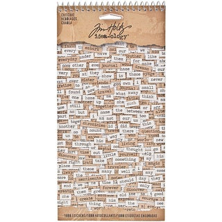 Tim Holtz Idea-Ology 'Chitchat' Stickers (Set of 1,088)
