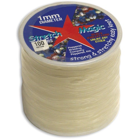 Stretch Magic 100-meter Clear Bead and Jewelry Cord