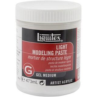 Liquitex Light Modeling Paste Gel Acrylic Medium (16 Oz)
