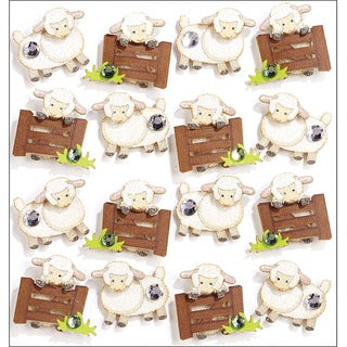 Jolee's Sheep Mini Repeats Stickers