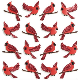 Jolee's Cardinal Mini Repeats Stickers