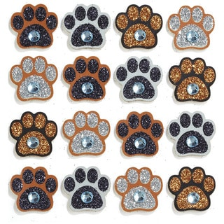 Jolee's Paw Print Mini Repeats Stickers