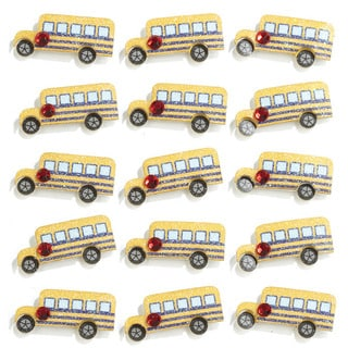 Jolee's 'School Bus' Mini Repeats Stickers