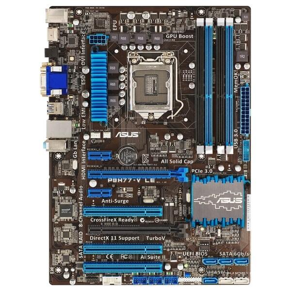 Asus P8H77-V LE Desktop Motherboard - Intel Chipset - Socket H2 LGA-1