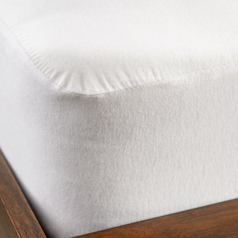 Christopher Knight Home Smooth Tencel Waterproof Queen-size Mattress Pad Protector - White