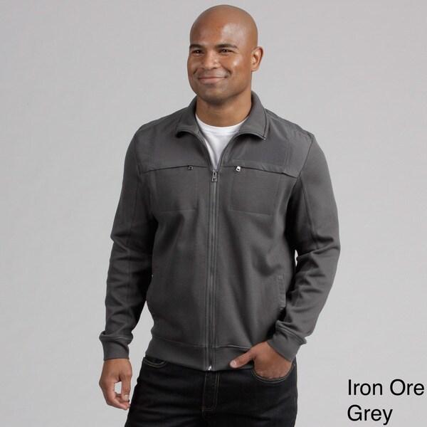Calvin Klein Men's Zip-front Stand Collar Jacket