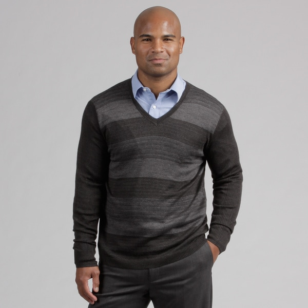 Calvin Klein Men's Wool Blend V-neck Sweater