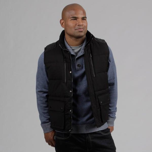 Calvin Klein Men's Black Puffer Vest