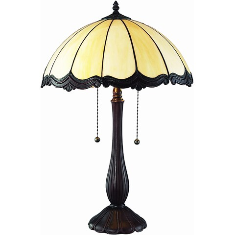 Tiffany Style Victoria 25-inch Table Lamp