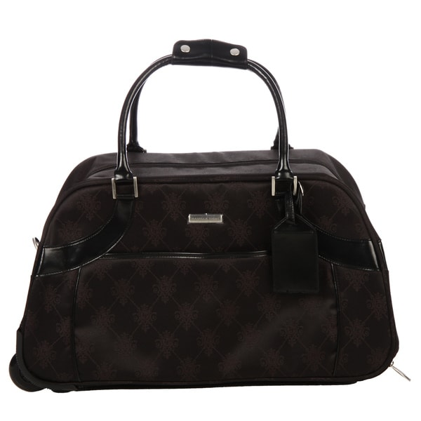 Isabelle Fiore Signature 23-inch Rolling Upright Duffel Bag