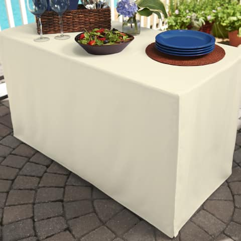 Folding Table Indoor/Outdoor Tablecloth