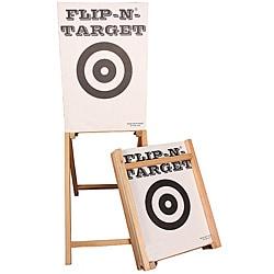 Flip-N-Target Sportsman Portable Wooden Target Stand - Thumbnail 0