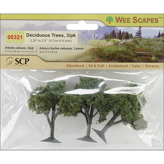 SCP Deciduous Trees (Pack of 3)