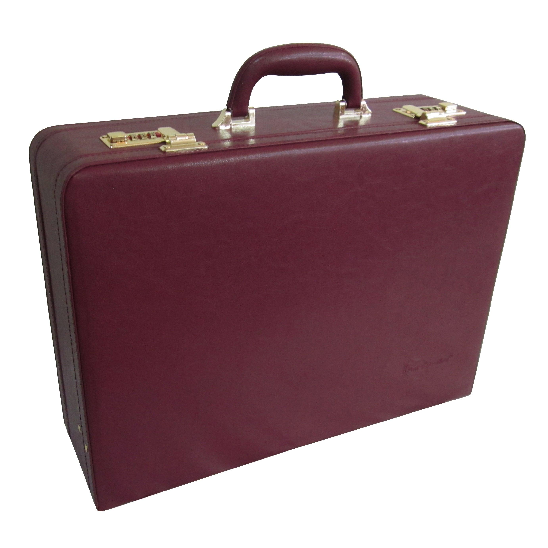 Amerileather Amerilether Large Expandable Faux Leather Attach/è Case