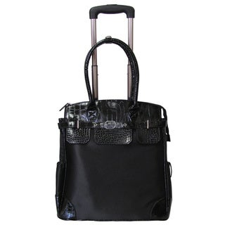 Link to Amerileather Deluxe Skylar Women's 17-inch Rolling Tote with Laptop Compartment Similar Items in Laptop & Tablet Cases
