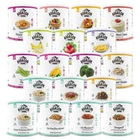 Augason Farms Simply Meal Pack with 30-year Shelf-life (612-servings) - White