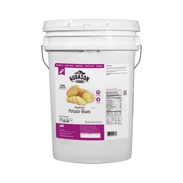 Augason Farms 6-Gallon Gluten Free Potato Slice Pail