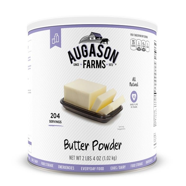 Augason Farms Butter Powder 36 oz. #10 Can